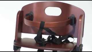 G+g 212 Banquet Wooden High Chair
