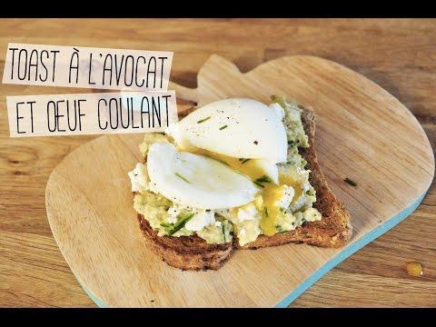 toast-à-l'avocat-et-à-l'œuf-coulant