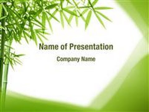 bamboo presentation A bamboo introduction presentation we use your linkedin profile and activity data to personalize ads and to show you more relevant ads.