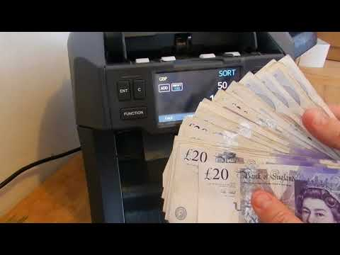Currency Counter With Fake Note Detection Laurel X8 Bank Note Counter Laurel X8 Pocket Sorter