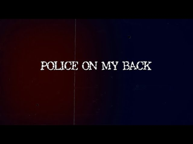 Billie Joe Armstrong of Green Day - Police on my Back