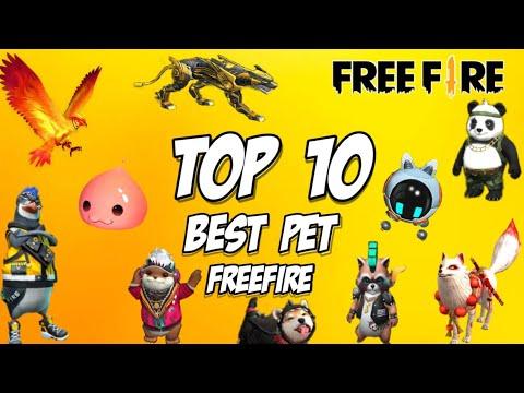 Best Pet In Garena FreeFire l Top 10 Pet In FreeFire l New Pet Ability In Freefire l Pet In FreeFire