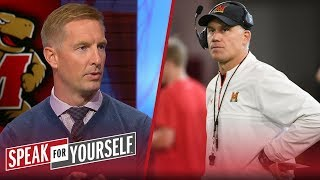 Joel Klatt discusses Maryland reinstating DJ Durkin after investigation | CFB | SPEAK FOR YOURSELF
