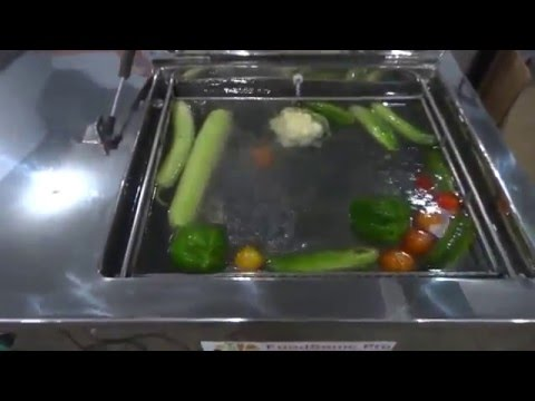 Ultrasonic Ozone Fruit & Vegetable Washer