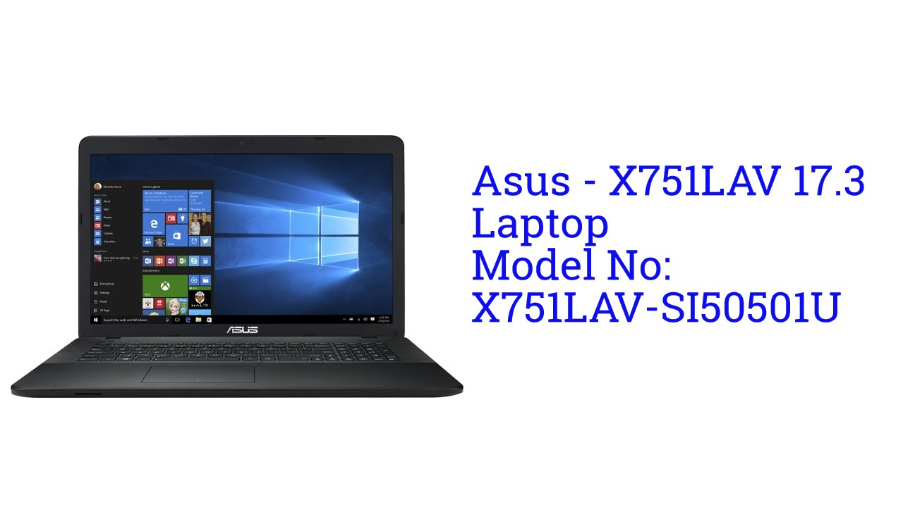 ASUS X751LAV Windows 7