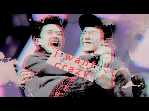 chansoo | I don't want easy, I want crazy