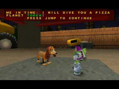 Toy Story 2 Walkthrough Level 4 Construction Yard 1 2