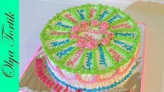 Порционный Торт на Выпускной МК Как сделать порционный торт