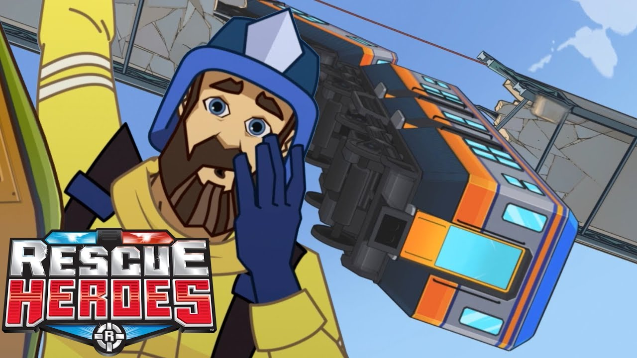 Rescue Heroes™ - Earthquake In Africa | Cartoons For Kids | Fisher-Price | Rescue Heroes Episode 1