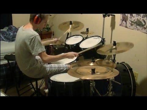 Zoom H4n Handy Audio Recorder Test (drums)