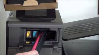 HP Officejet Pro X551dw Unboxing & Setup