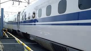浜松工場N700系X27編成廃車入れ替え【コザシティ】