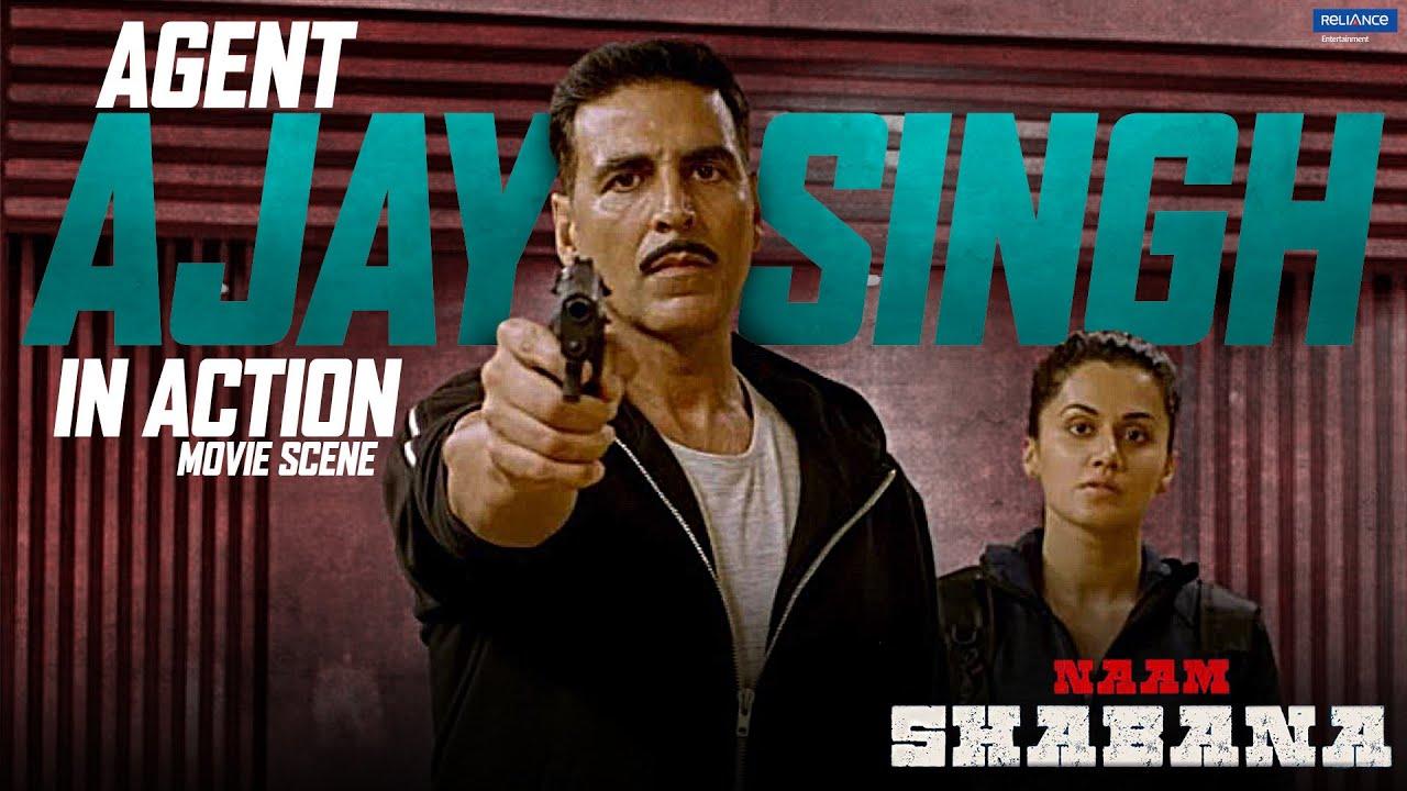 Download Naam Shabana | Agent Ajay Singh in Action | Movie Scene | Akshay Kumar, Taapsee Pannu | Shivam Nair