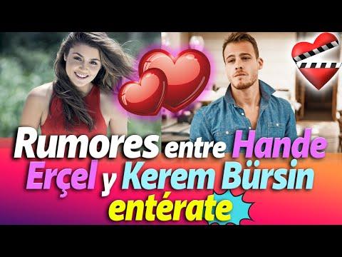 Rumores entre Hande Erçel y Kerem Bürsin, entérate
