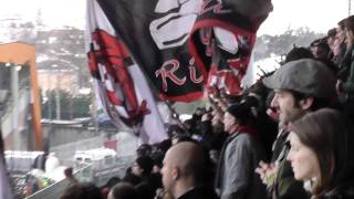 Cesena Milan 1-3 Curva Sud Milano