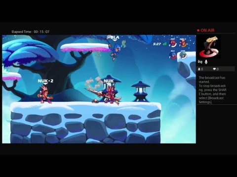 Playing brawlhalla with the bro add to join (GLITCH) PlayStation 4