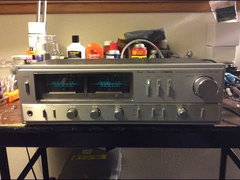 Fisher CA-120 Integrated Amplifier Repair (One Channel Not Working)