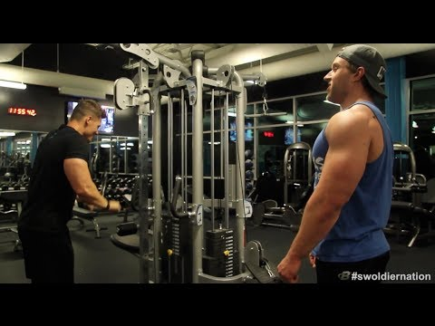 Swoldier Nation - Trainer Edition - Chest & Triceps with Furious Pete
