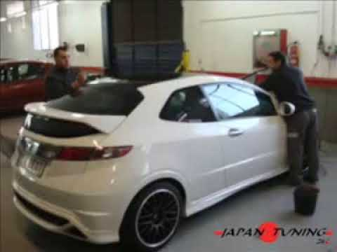 honda civic type r tuning youtube. Black Bedroom Furniture Sets. Home Design Ideas