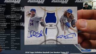 7/16/2018 2018 Topps Definitive Baseball Case Random Teams #17