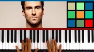 "How To Play ""Moves Like Jagger"" Piano Tutorial (Maroon 5 feat. Christina Aguilera)"