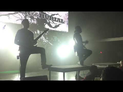 After the Burial - Lost in the Static (Live @ London Music Hall 2018)