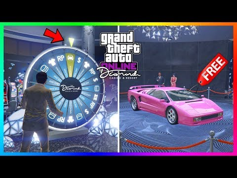 How To Win The Lucky Wheel Podium Car EVERY SINGLE TIME At The Diamond Casino In GTA 5 Online!