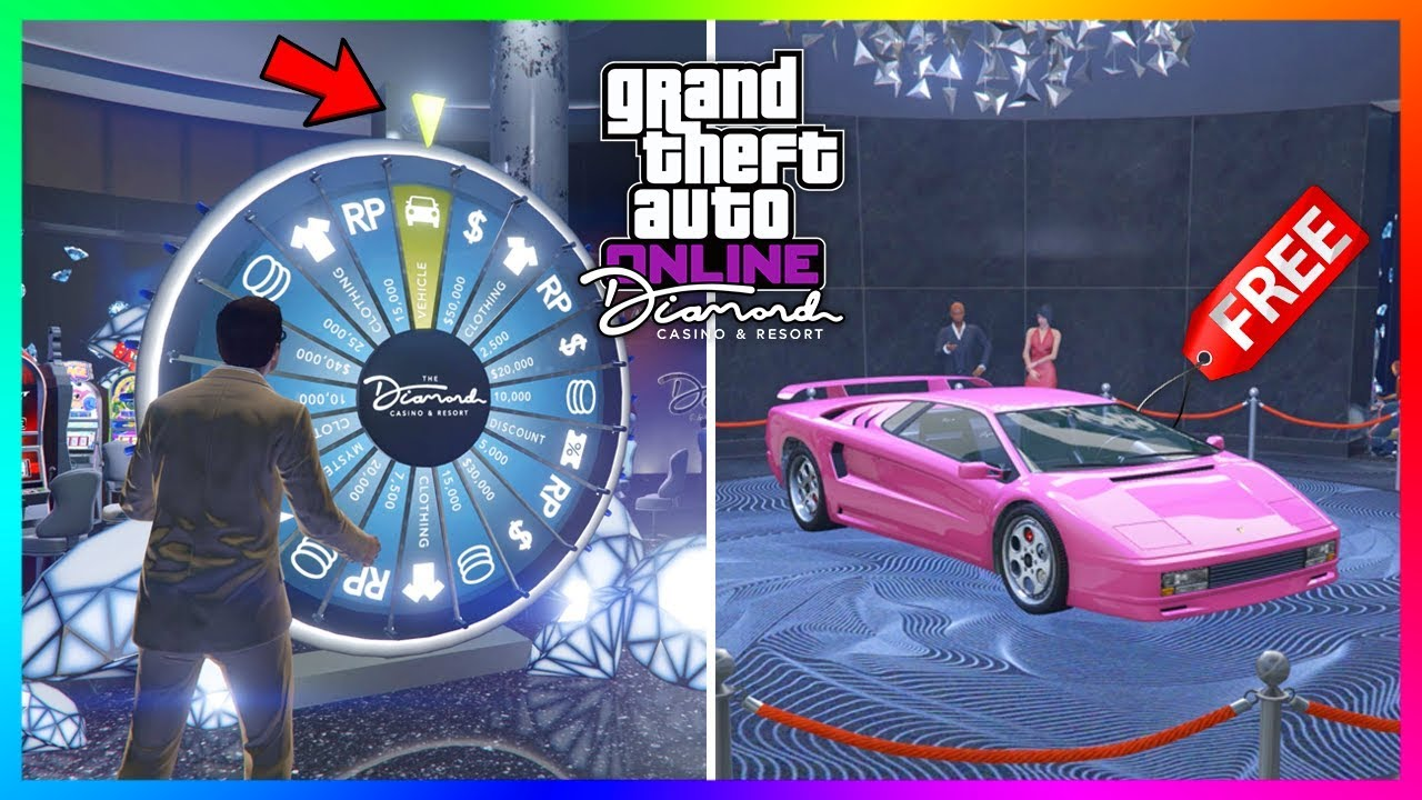 How To Win A Car >> How To Win The Lucky Wheel Podium Car Every Single Time At The Diamond Casino In Gta 5 Online