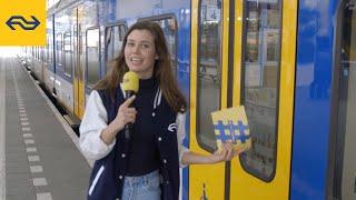 #8 Waarom sluit de Sprinter zijn deuren maar vertrekt hij niet?   De Leukste Treinquiz van Nederland