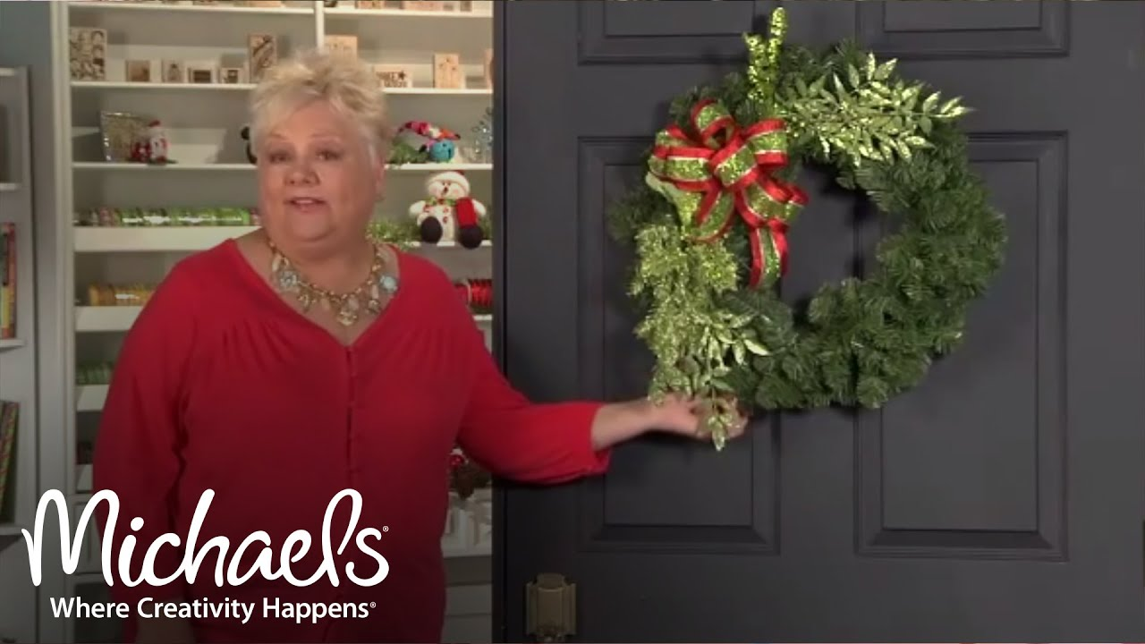 spice up your holiday wreaths 2011 holiday michaels - Michaels Christmas Wreaths