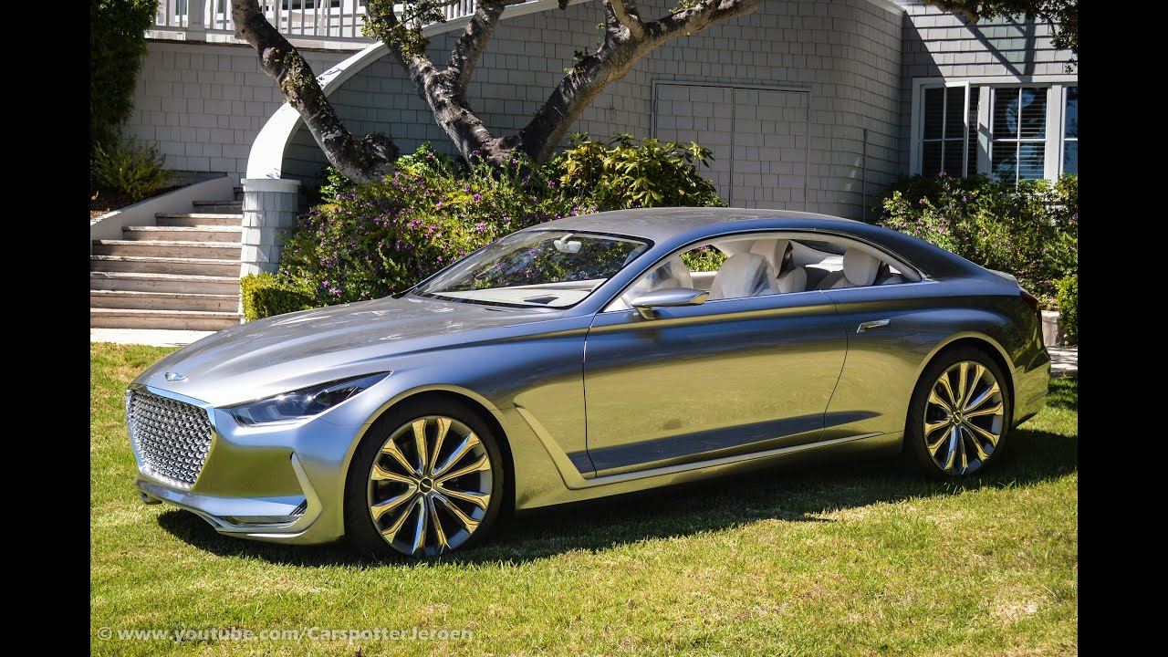 Hyundai Vision G Coupe Concept Monterey Carweek 2015