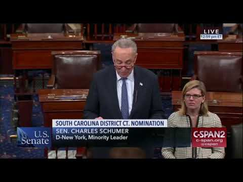 Chuck Schumer doesn't want the white judicial nominee