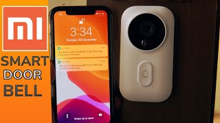 Xiaomi Mijia Smart Door Bell, works like a security camera too this video door bell