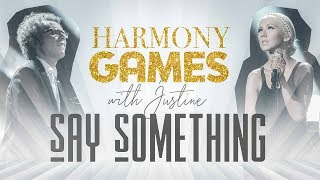 How to sing Say Something by a Great Big World and Christina Aguilera - Harmony Games