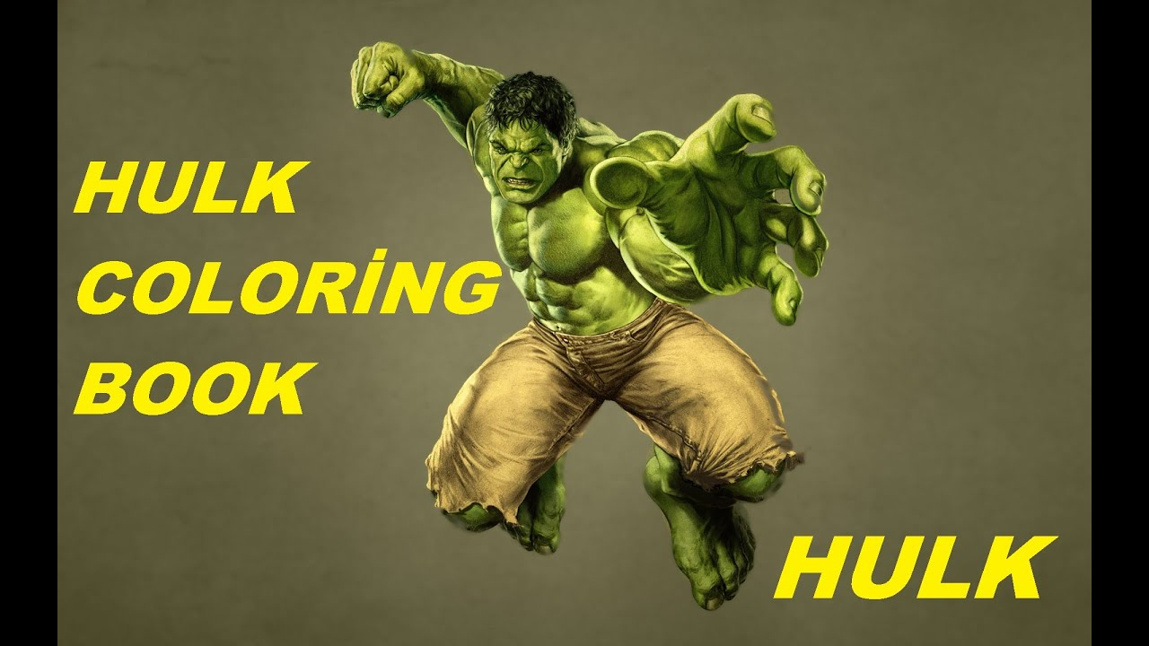 hulk coloring book marvel hulk part 1 youtube