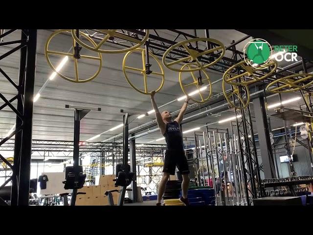 Vertical Rings Techniek zijwaarts met stop en extra zwaai