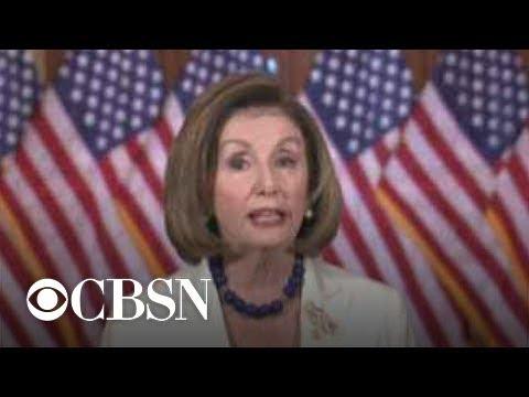 Nancy Pelosi OKs drafting of impeachment articles against Trump