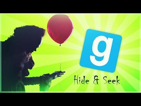 GMOD -  Hide & Seek - Pettywise -  Shining Jordans - Comedy Gaming