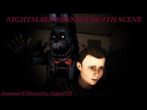 (SFM) FNaF 4 Nightmare Bonnie's Death Scene letöltés