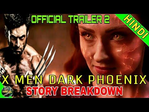 X MEM DARK PHOENIX TRAILER 2 BREAKDOWN | FULL STORY EXPLAINED  (IN HINDI)