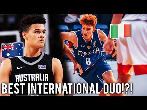 Nico Mannion and 5 STAR Josh Green are the BEST DUO in AAU!!! Next Ben Simmons?!?