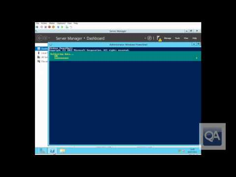 Windows Servr 2012 Server Core GUI Switching