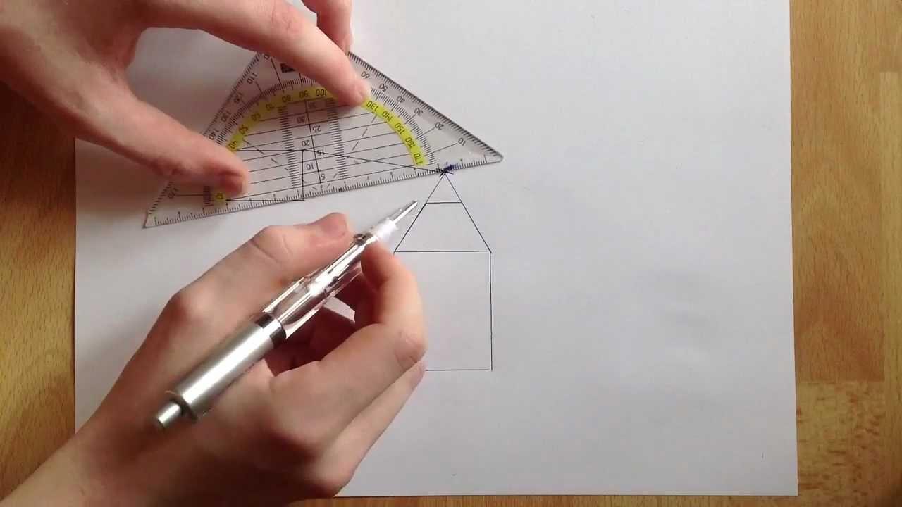 Anleitung Fluchtpunkt Perspektive Zeichnen Fluchpunkt Perspektive