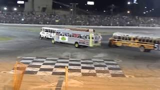 School Bus Figure 8 Race 8/26/17 Sportsdrome Speedway