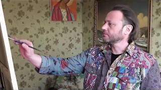 Онлайн трейлер видеоурока_ Пишем пионы.Игорь Сахаров.