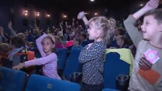 Акция «Детям Подмосковья - безопасность на дорогах» прошла в кинотеатре 5 Звёзд