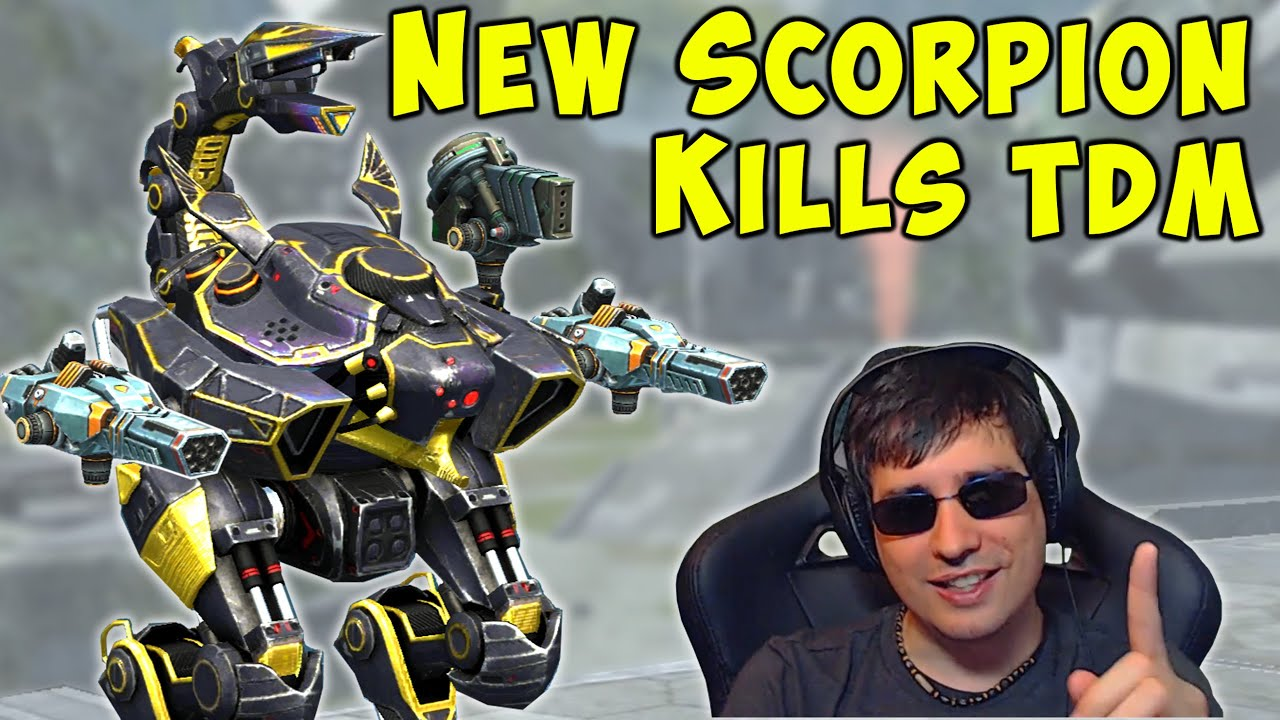 New SCORPION Robot Kills TEAM DEATHMATCH - War Robots Gameplay Mk2 WR