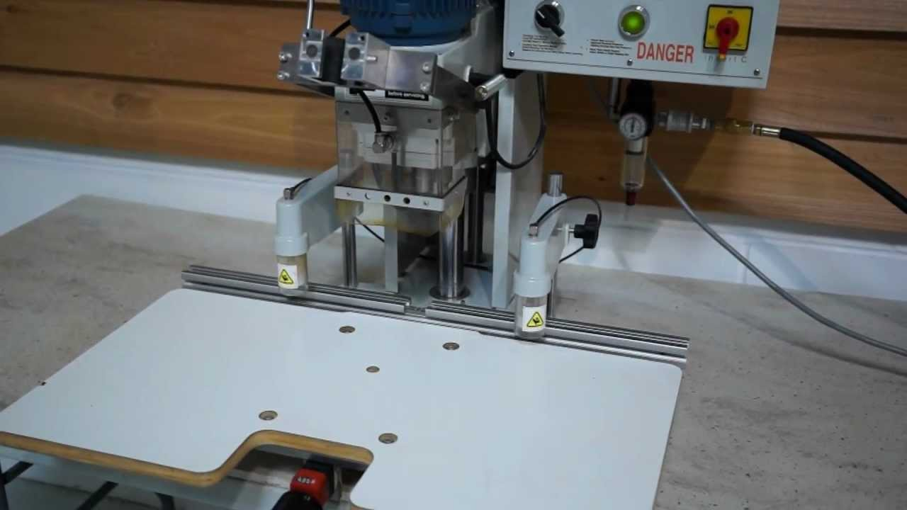 Clean 2002 Omal Insert C Hinge Boring And Insertion