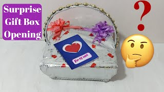 Surprise Gift For Husband | Surprise Gift Box Opening | Best Gift For Hubby