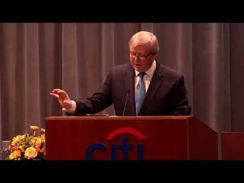 Alternative Futures for U.S. China Relations with Kevin Rudd